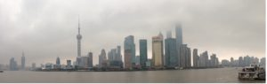 Shanghai, view from the Bund